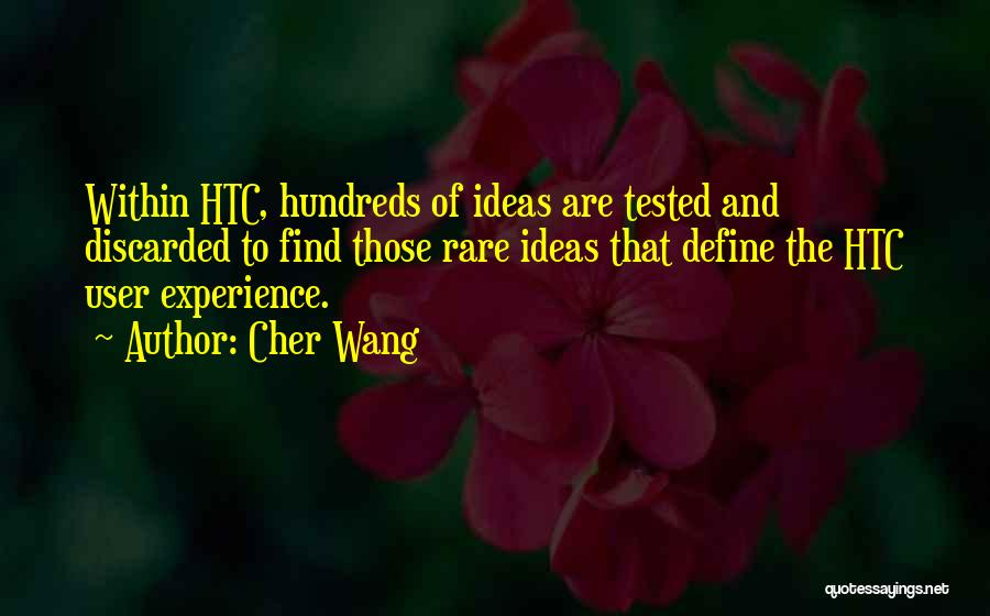 Cher Wang Quotes 746276