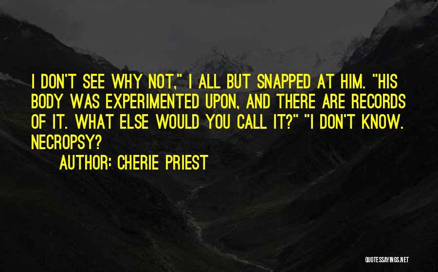 Cherie Priest Quotes 1702004