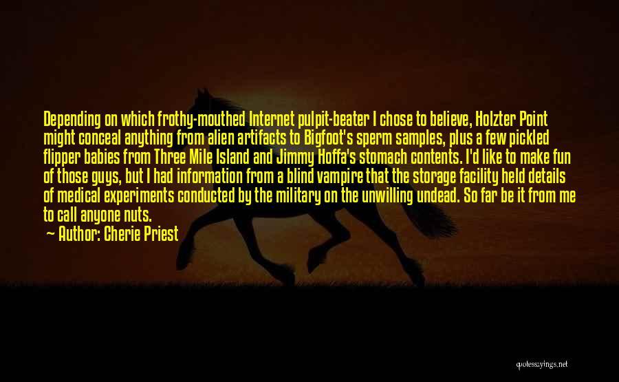 Cherie Priest Quotes 520026