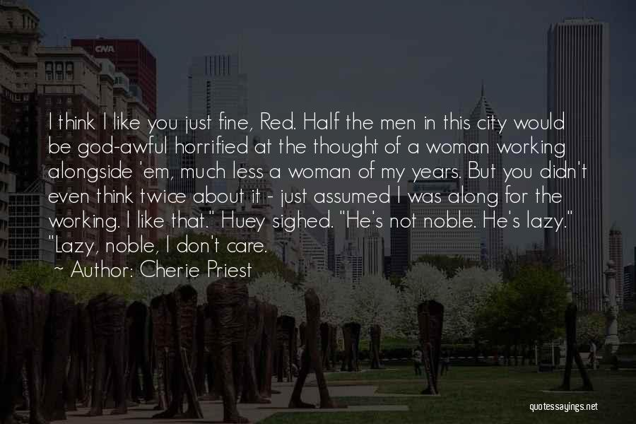 Cherie Priest Quotes 93775