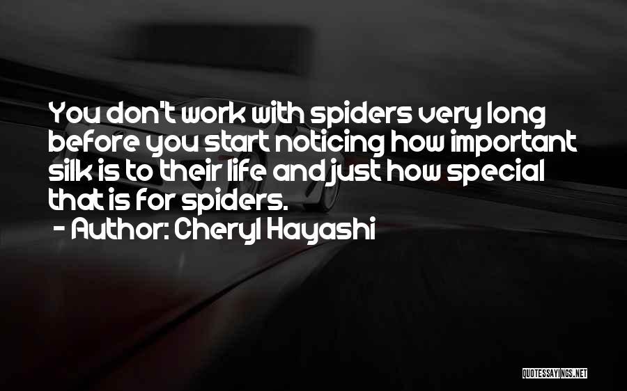 Cheryl Hayashi Quotes 1750928