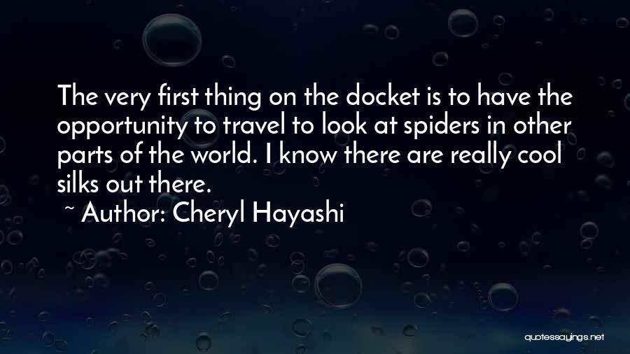 Cheryl Hayashi Quotes 915202