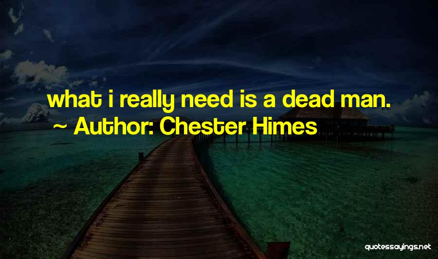Chester Himes Quotes 246884