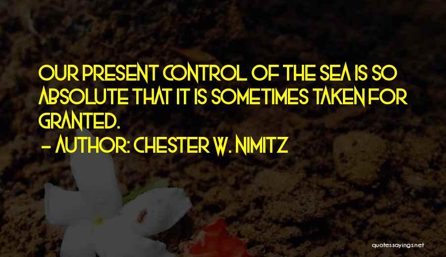 Chester W. Nimitz Quotes 1080369
