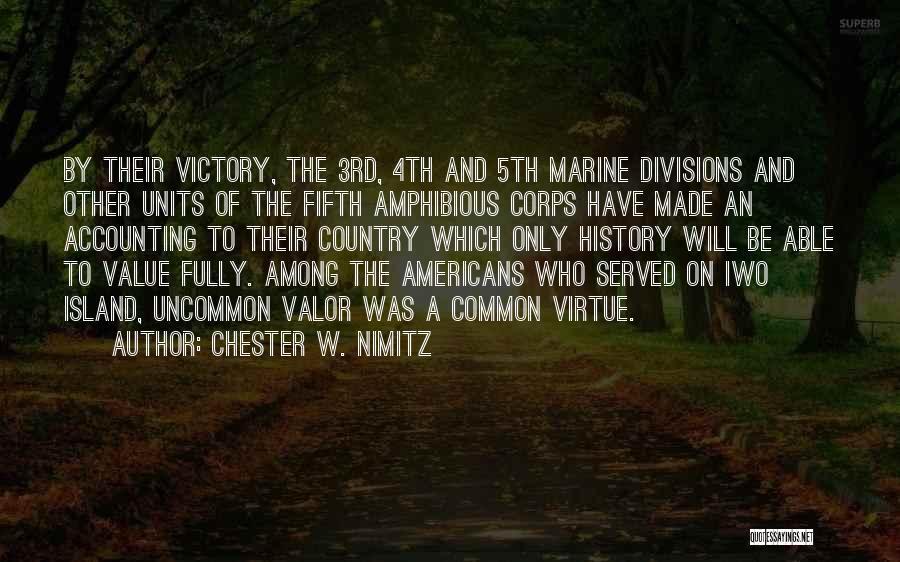 Chester W. Nimitz Quotes 1626860