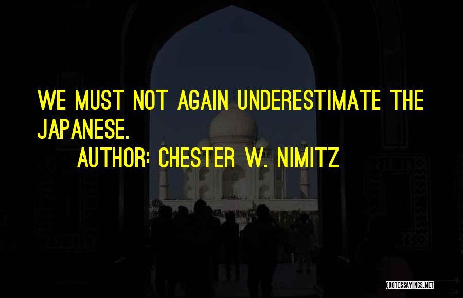 Chester W. Nimitz Quotes 1631813