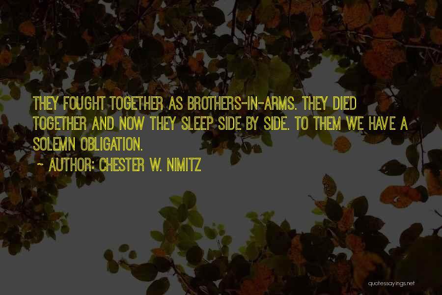 Chester W. Nimitz Quotes 1749939