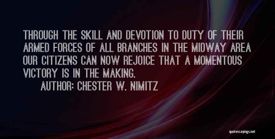 Chester W. Nimitz Quotes 1884368