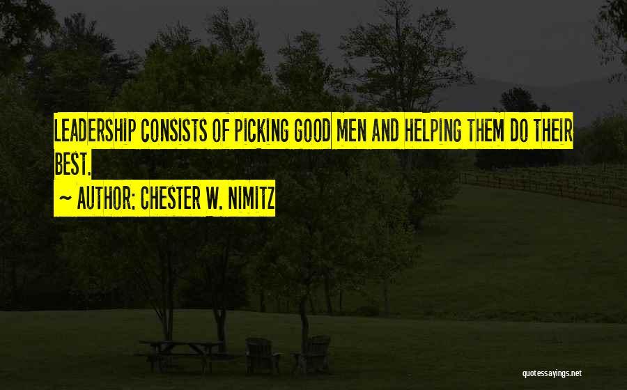 Chester W. Nimitz Quotes 547641