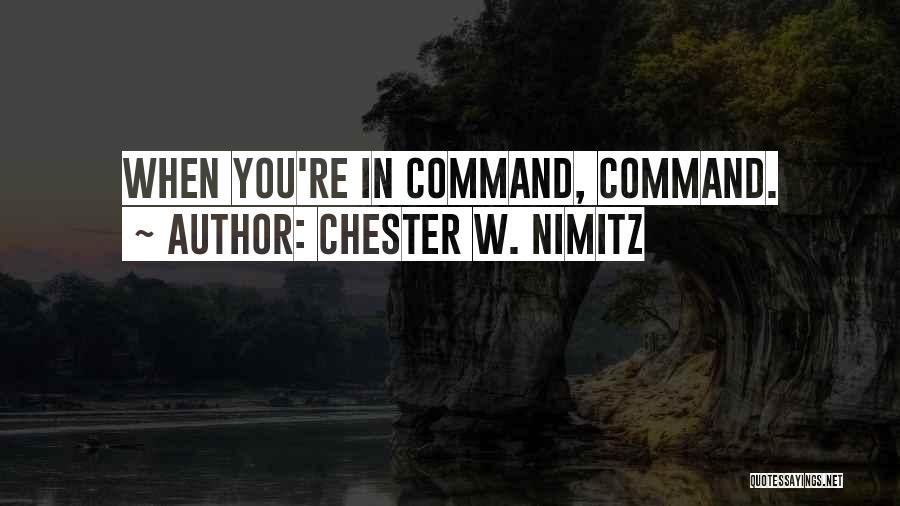 Chester W. Nimitz Quotes 603708