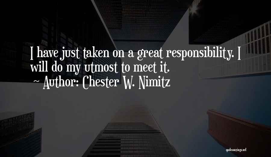 Chester W. Nimitz Quotes 731406