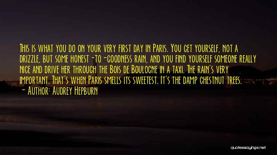 Chestnut Quotes By Audrey Hepburn