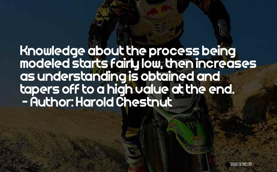Chestnut Quotes By Harold Chestnut