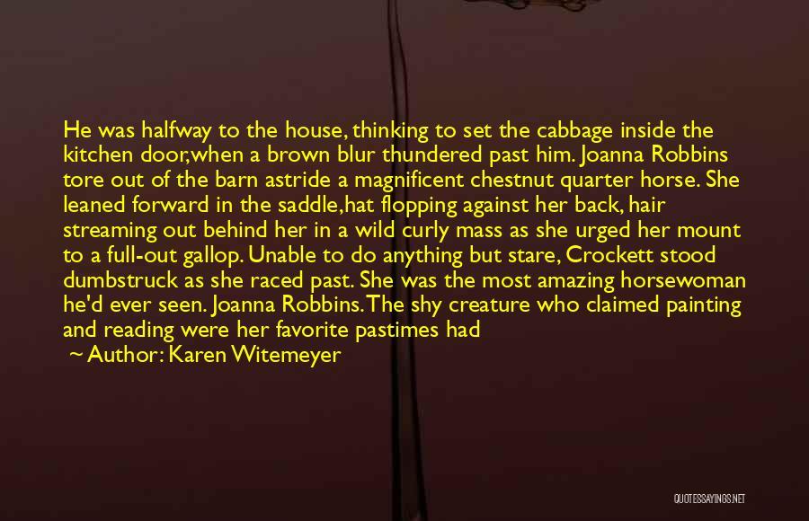 Chestnut Quotes By Karen Witemeyer
