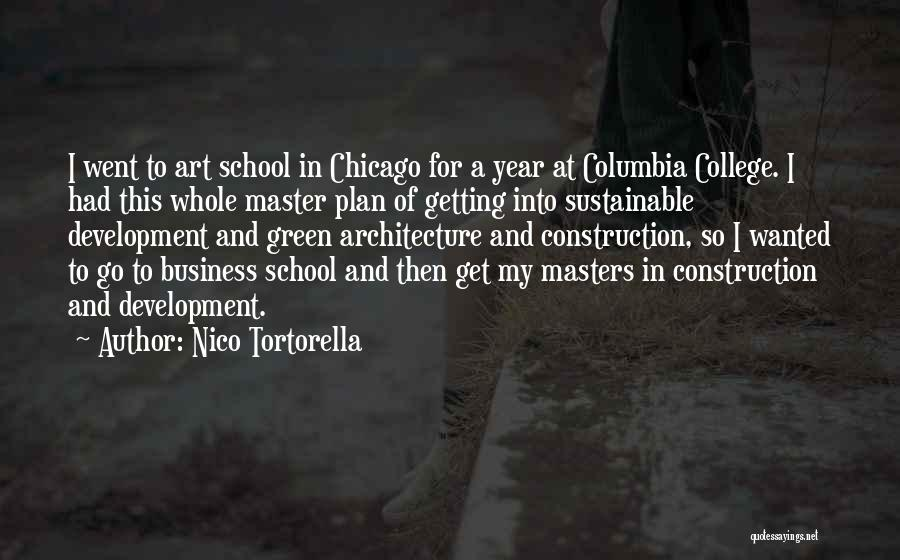 Chicago Architecture Quotes By Nico Tortorella