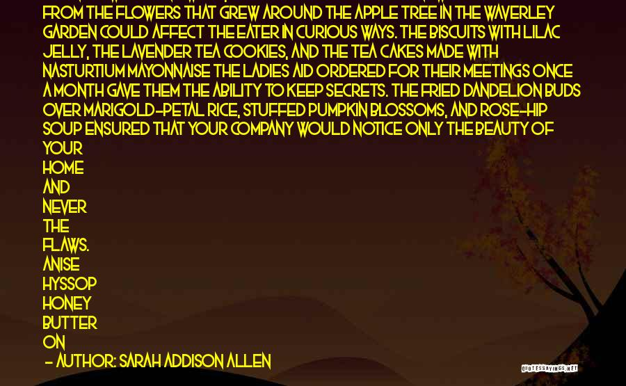 Chicory Quotes By Sarah Addison Allen