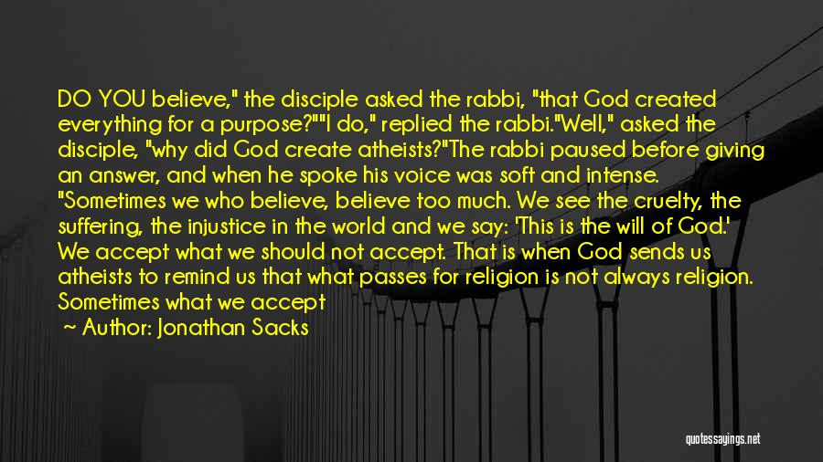 Chief Rabbi Sacks Quotes By Jonathan Sacks