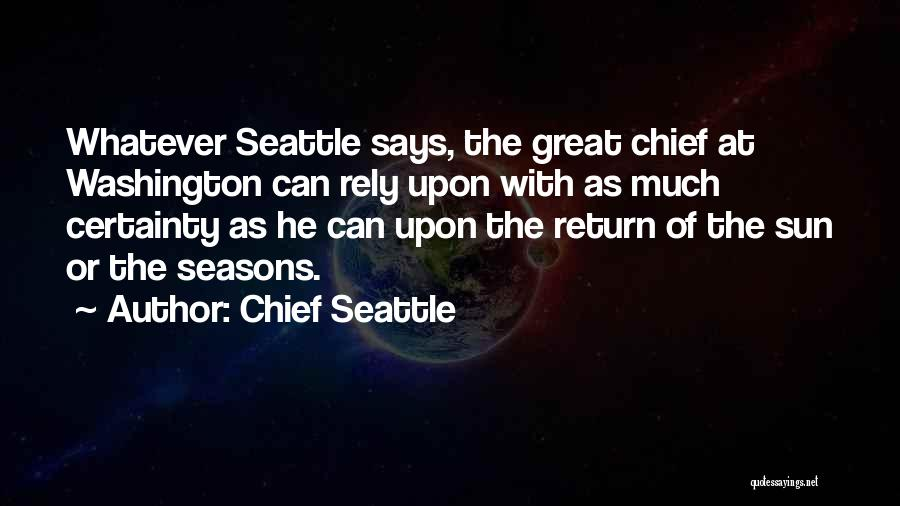 Chief Seattle Quotes 1403194