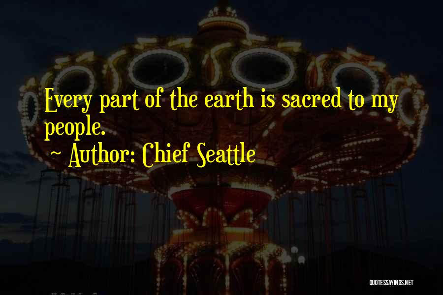 Chief Seattle Quotes 456527