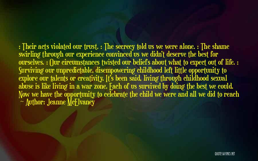 Child Creativity Quotes By Jeanne McElvaney