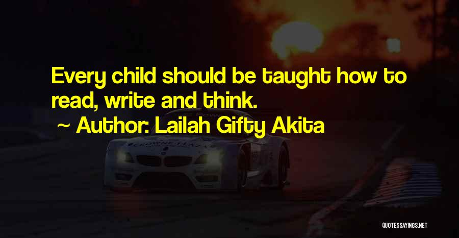 Child Creativity Quotes By Lailah Gifty Akita