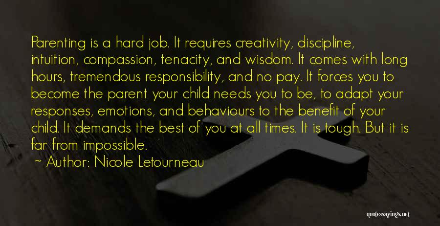 Child Creativity Quotes By Nicole Letourneau
