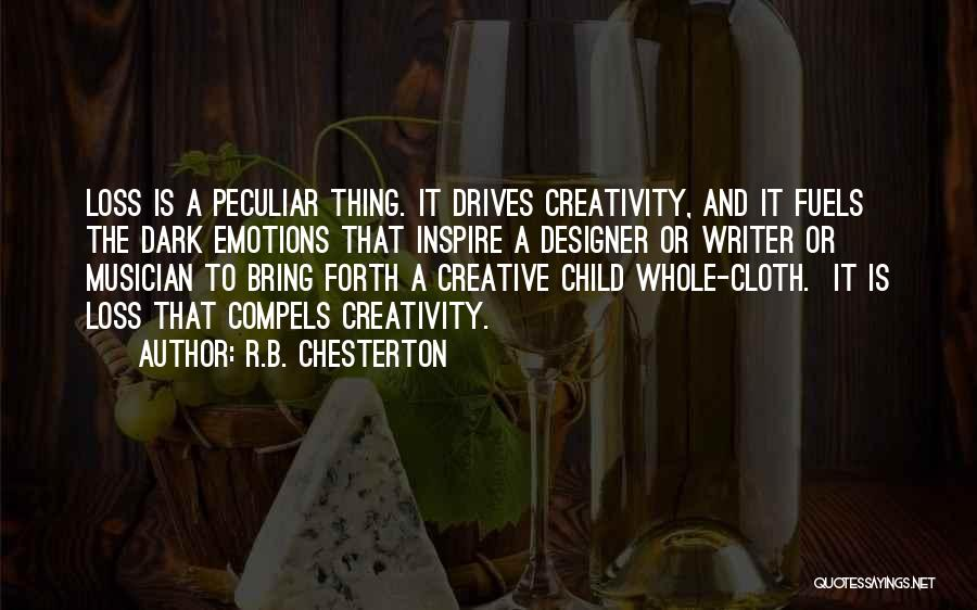 Child Creativity Quotes By R.B. Chesterton