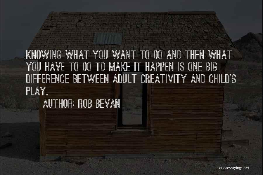 Child Creativity Quotes By Rob Bevan