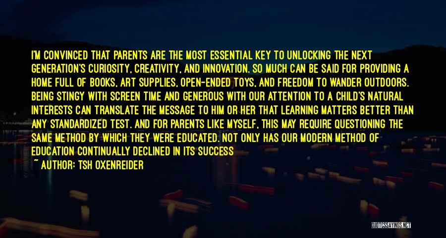 Child Creativity Quotes By Tsh Oxenreider