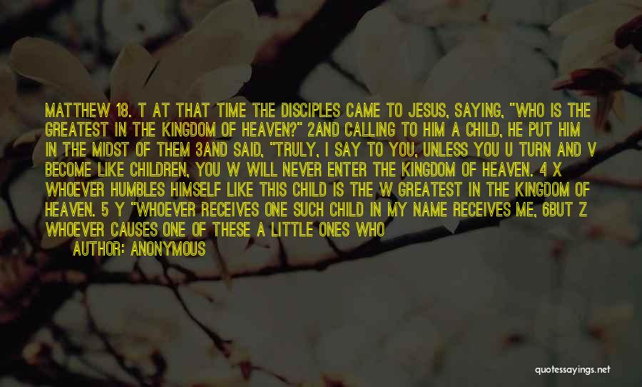 Child In Heaven Quotes By Anonymous