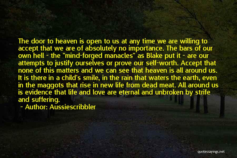 Child In Heaven Quotes By Aussiescribbler