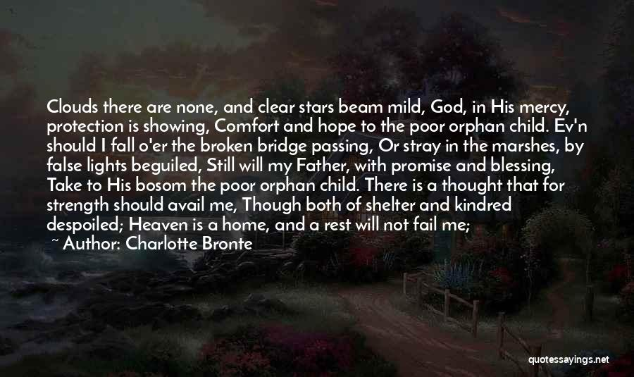 Child In Heaven Quotes By Charlotte Bronte