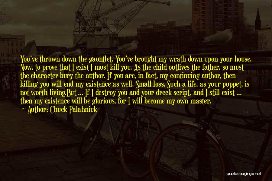 Child In Heaven Quotes By Chuck Palahniuk