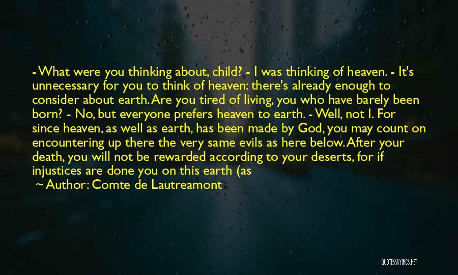 Child In Heaven Quotes By Comte De Lautreamont