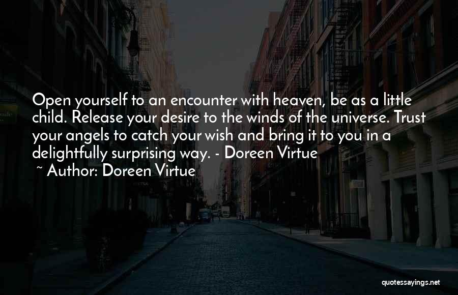Child In Heaven Quotes By Doreen Virtue