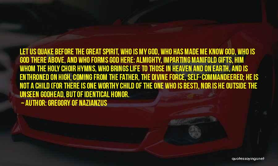 Child In Heaven Quotes By Gregory Of Nazianzus