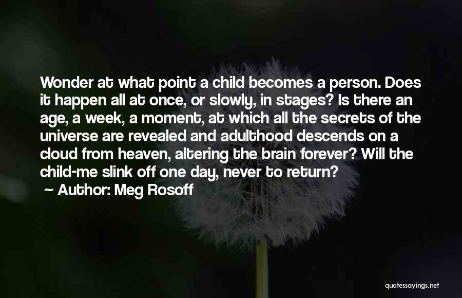 Child In Heaven Quotes By Meg Rosoff
