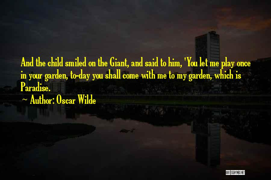 Child In Heaven Quotes By Oscar Wilde
