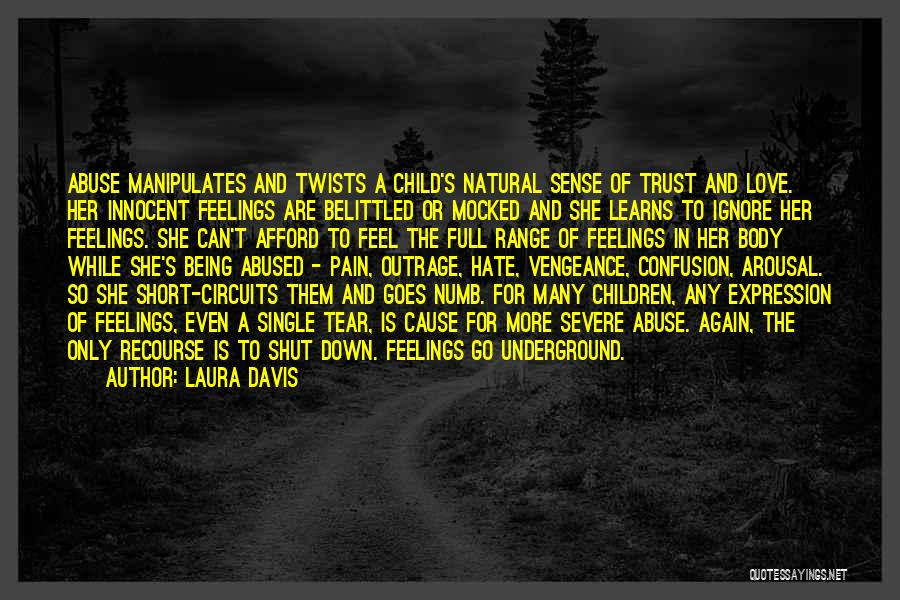 Child Innocence Quotes By Laura Davis