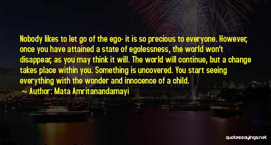Child Innocence Quotes By Mata Amritanandamayi