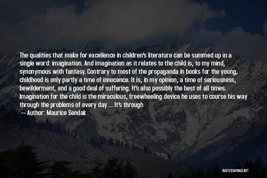 Child Innocence Quotes By Maurice Sendak