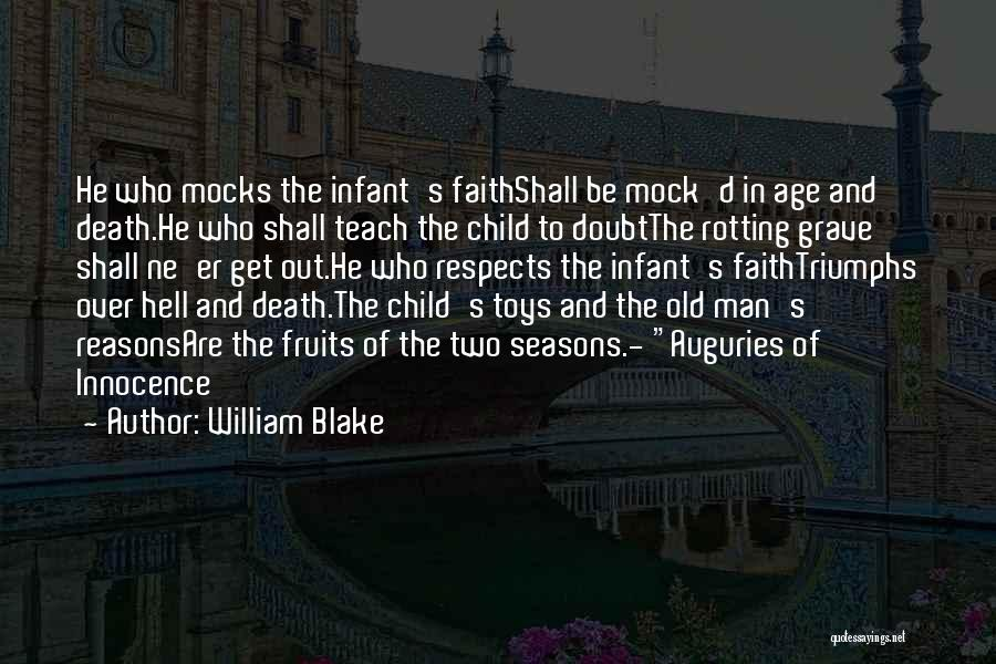 Child Innocence Quotes By William Blake