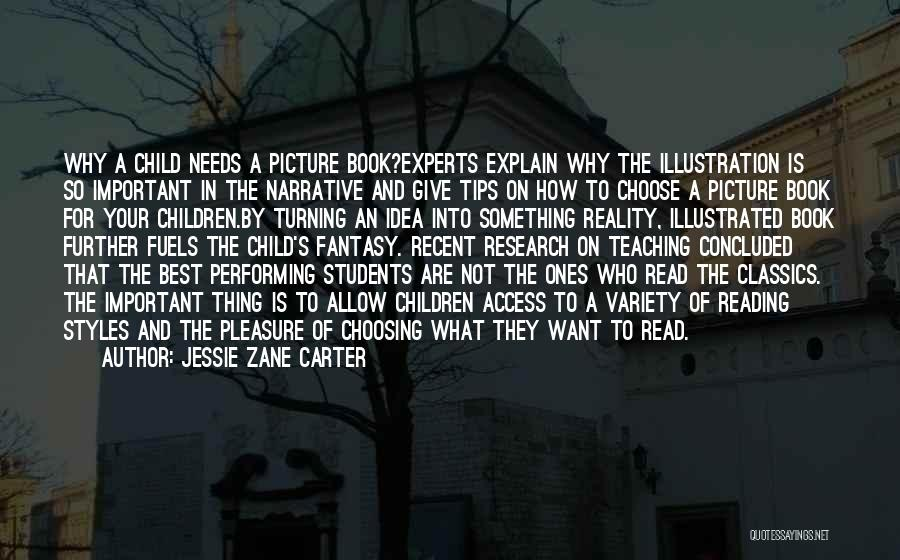 Child Teaching Quotes By Jessie Zane Carter