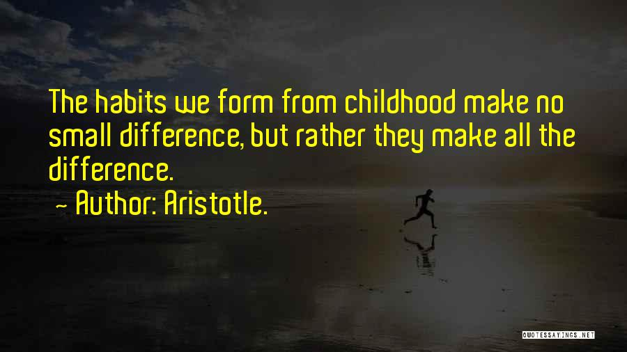 Childhood Education Quotes By Aristotle.