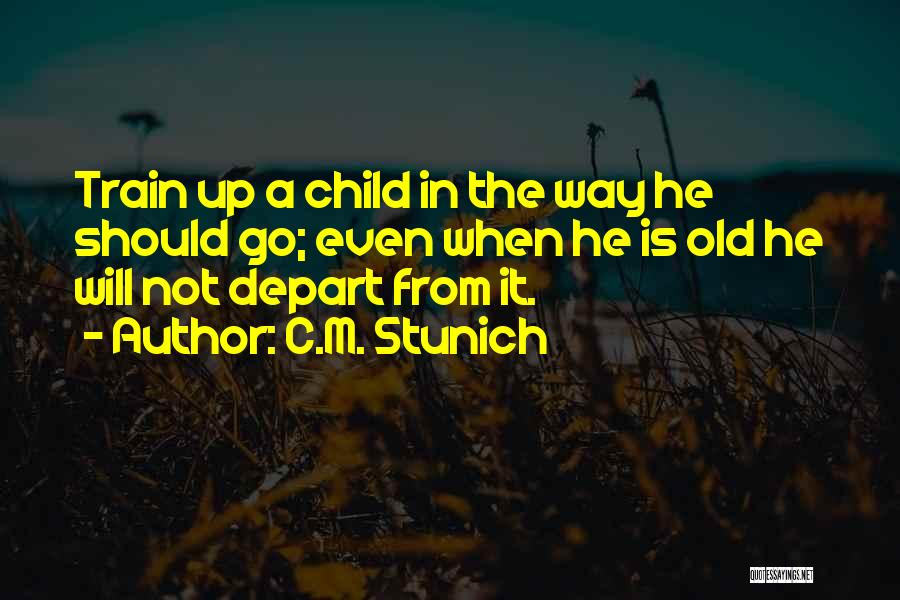 Childhood Education Quotes By C.M. Stunich