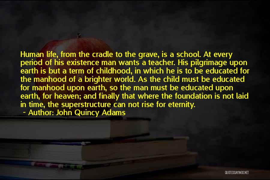 Childhood Education Quotes By John Quincy Adams