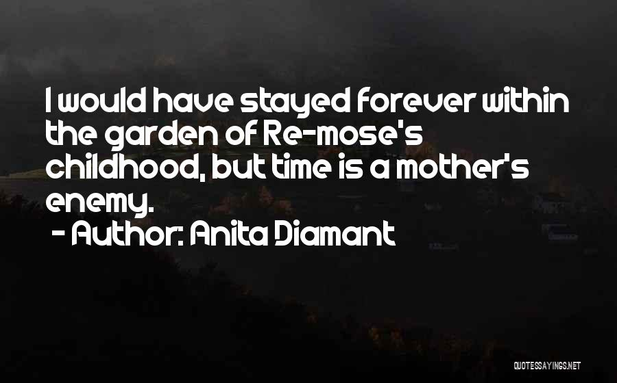 Childhood Growing Up Quotes By Anita Diamant