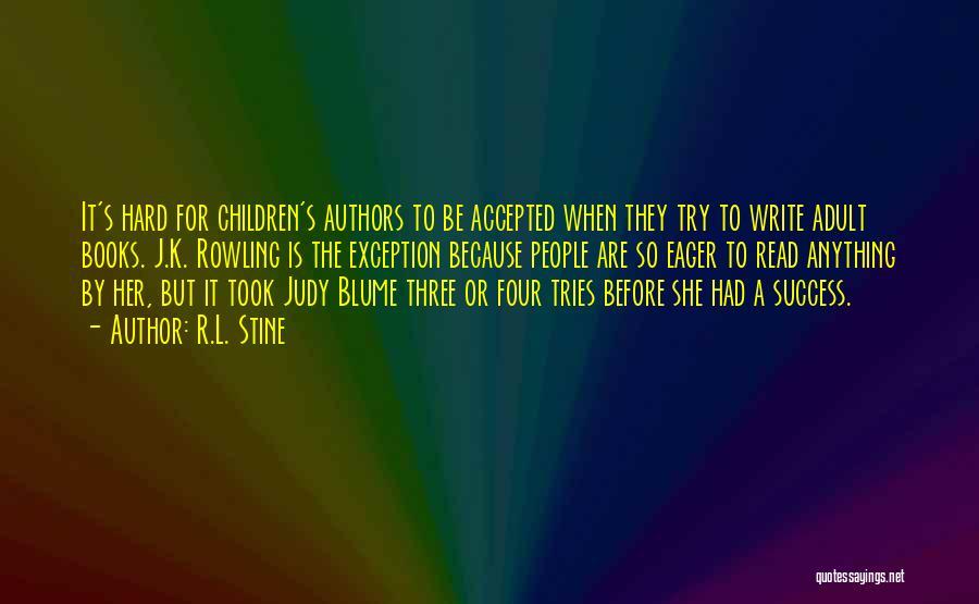 Children's Authors Quotes By R.L. Stine