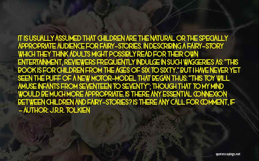 Children's Theatre Quotes By J.R.R. Tolkien