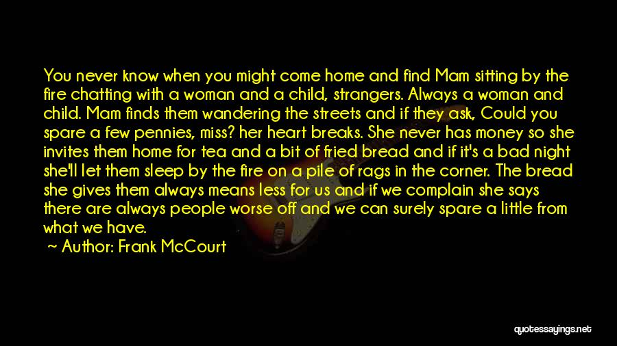 Child's Heart Quotes By Frank McCourt